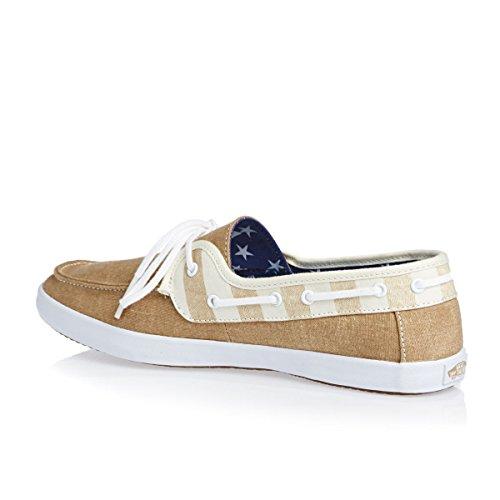 f66d4e23d7 Vans Chauffette Women s Shoes Americana Tan marshmallow 80%OFF ...