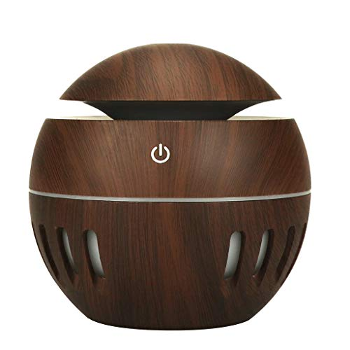 YAYUMI Essential Oil Aroma Diffuser,Colorful humidifier Air Aroma LED Ultrasonic Aroma Aromatherapy Humidifier
