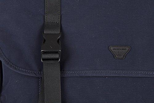 Armani Jeans borsa uomo a tracolla borsello originale blu