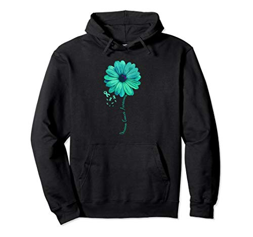 Ovarian Cancer Awareness Family Hoodie Survivor Pretty Gift