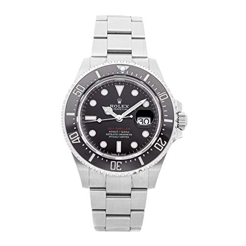 Rolex Sea-Dweller Mechanical (Automatic) Black Dial Mens Watch 126600 (Certified Pre-Owned)