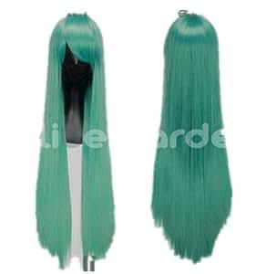 Green Long Costume Wigs Hetalia,Death Note,Natsume Yuujinchou COS wig (green)