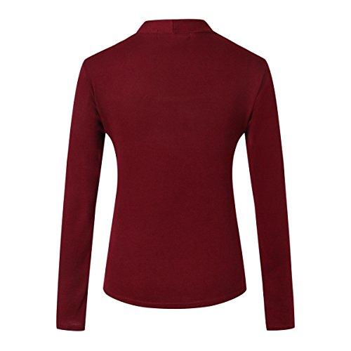 MTTROLI - Camisas - para mujer Wine