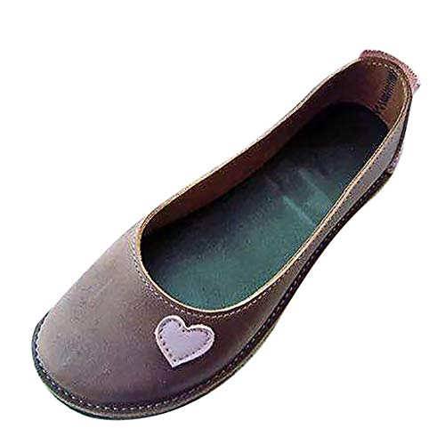 TnaIolral Ladies Single Shoes Fashion Light Non-Slip Flat Summer Shoe Shallow Mouth Sandals (US:7.5, - Seibel Shoes Ladies Josef
