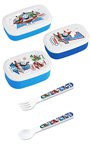 - Thomas and Friends - Three Thomas Lunch (Bento) Boxes with Thomas Spoon and Fork
