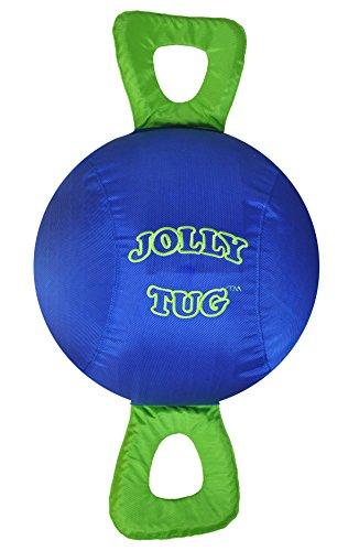 Stall Ball (Horsemen's Pride 14-Inch Horse Jolly Tug, Blue)