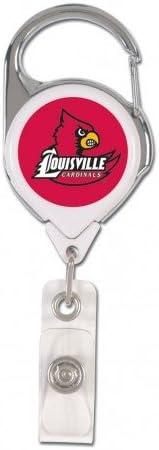 Louisville Cardinals NCAA Premium Badge Holder