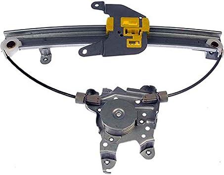 Fits Nissan Driver Side Rear Without Power Window Motor Premier Gear PG-749-526 Regulator