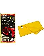 Kirkland Signature 713160 Ultra Plush microvezel handdoeken, 36 stuks, geel