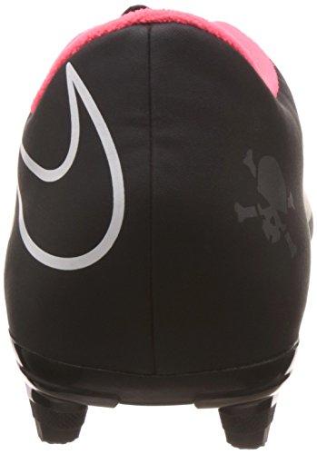 Nike Hypervenom Phade Fg - Zapatillas de fútbol para hombre Schwarz (Black/Black-Hyper Punch-White)