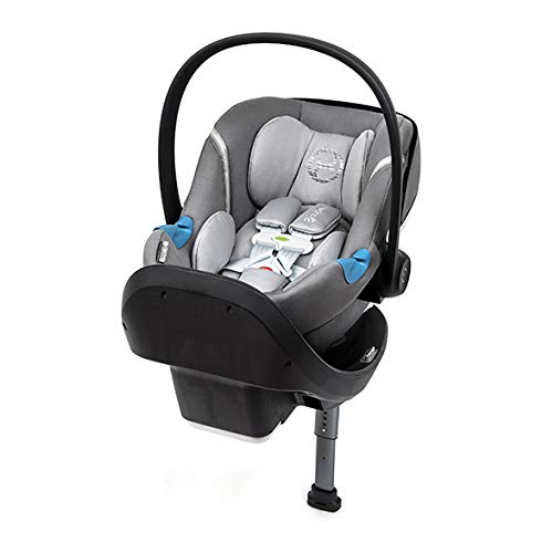 Cybex Aton M Infant Car Seat with SensorSafe, Manhattan Grey ()