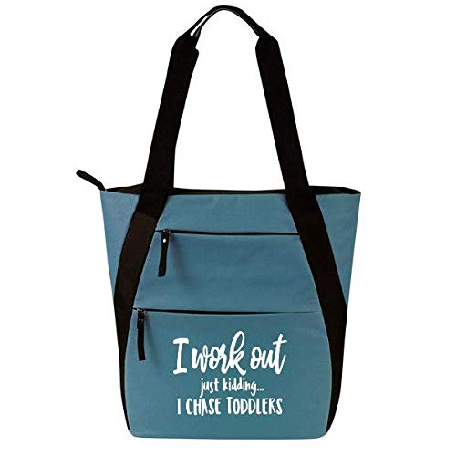 ish Fitness Tote Bag for Women Fit Gray//Pink ish Funny Gym Fitness Sayings Gym Tote Bag, Fit Funny Gym Tote Bag for Women Gray//Pink Workout Tote Cute