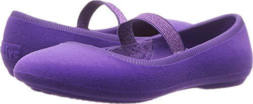 Native Kids Shoes Baby Girl's Margot Velvet (Toddler/Little Kid) Starfish Purple 12 M US Little Kid