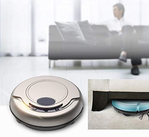 Robot Aspirateur multi-fonctions Robot Aspirateur Programme facile de nettoyage et d\'auto-chargement adapté aux sols à surface dure et aux tapis minces