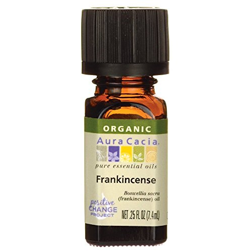 Aura Cacia Essential Oil, Frankincense, 0.25 Fluid Ounce