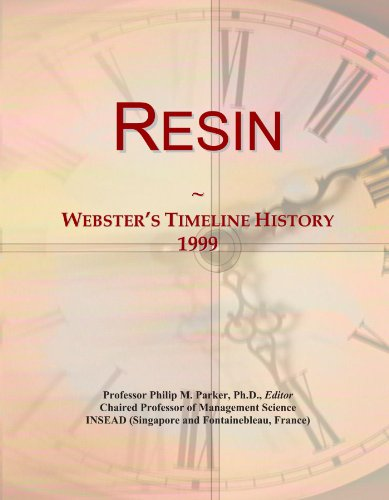 Resin: Webster's Timeline History, 1999