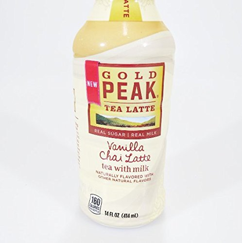 Gold Peak Ready To Drink Bottled Coffee 4 Pack (Vanilla
