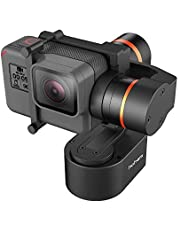 Hohem 3-Axis Gimbal for GoPro Hero 7/6/5/4/3 Wearable Stabilizer Bike Bicycle/Helmet/Car Mounting Gimble for Action Camera (XG1)