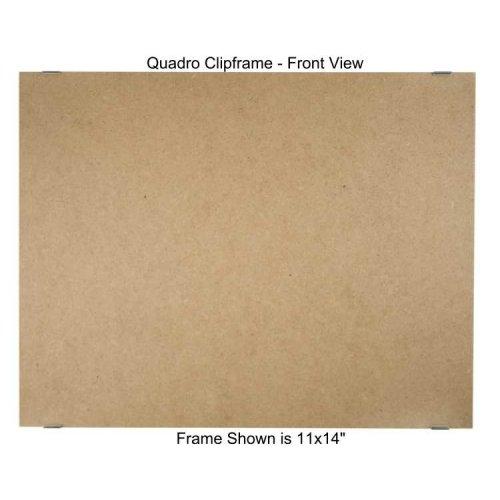 Quadro Designs Clip - Quadro Clip Frame 11x14 inch Borderless Frame
