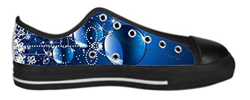 Scarpe Da Donna Basse Scarpe Basse Chirstmas Ball Design Newlowtopball17