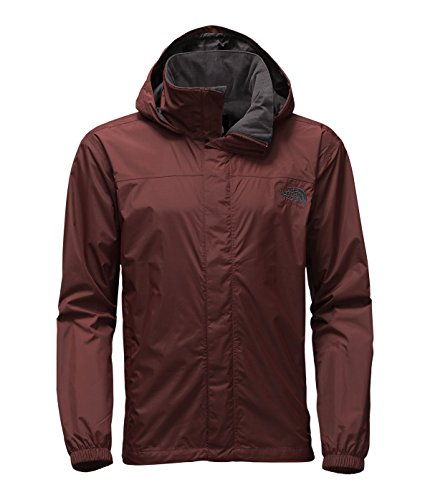 The North Face Resolve Jacket Men's Sequoia Red/Asphalt Grey Large