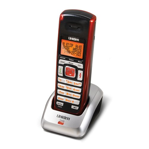 Uniden DCX200RED DECT 6.0 Accessory Handset and Charging Cradle for the DECT2000/DECT 3000 Series Phones (Red) (3000 Telephone Series)
