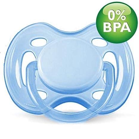 Chupete transparente Airflow Avent 0 - 6 M Azul: Amazon.es: Bebé