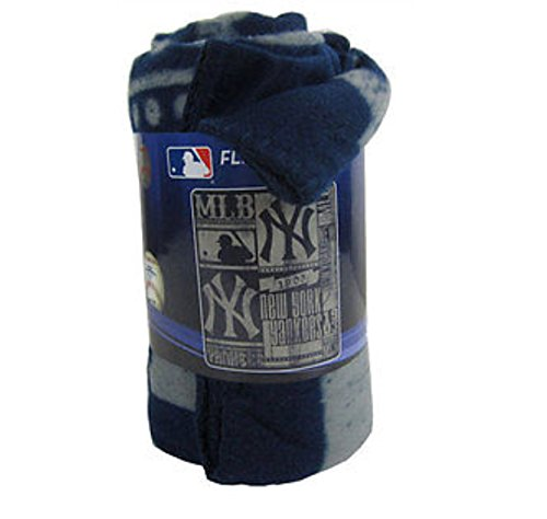 Northwest New York Yankees Fleece Throw