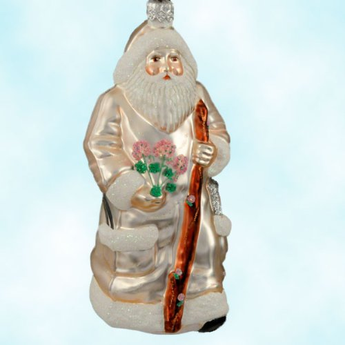 Patricia Breen Santa Paints Summer Store Exclusive Limited 250 Christmas Ornament