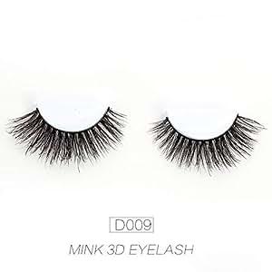 Amazon.com : Mink Lashes 3D Mink False Eyelashes Long ...