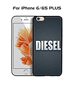 Diesel IPhone 6 Plus Funda Case, Brand Logo Customized Solid Plastic Durable Rugged Anti Dust Fit for IPhone 6 6s Plus (5.5 inch)