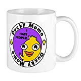 CafePress Ducky Momo Hates People! Mugs Unique Coffee Mug, Coffee Cup