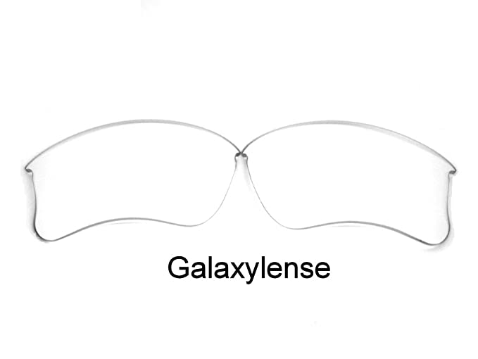 6bdf5aefa2 Galaxy Replacement Lenses for Oakley Flak Jacket XLJ Clear Color 100% UVAB
