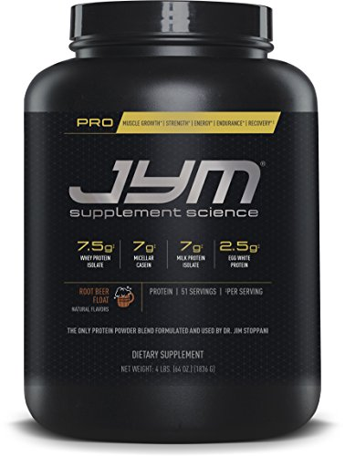 JYM Supplement Science Pro, Root Beer Float, 4 Pound