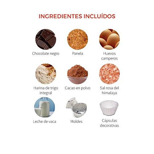 Kit para cocinar - Coulants de chocolate de Foodinthebox (6 coulants): Amazon.es: Alimentación y bebidas