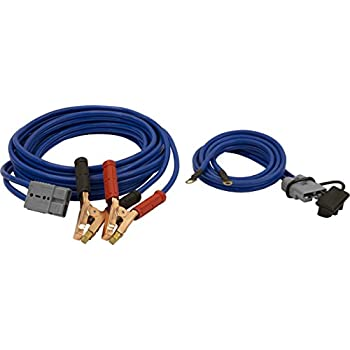 Image of Battery Jumper Cables Buyers Products 5601025 Gray Jumper Cable with Quick Connect
