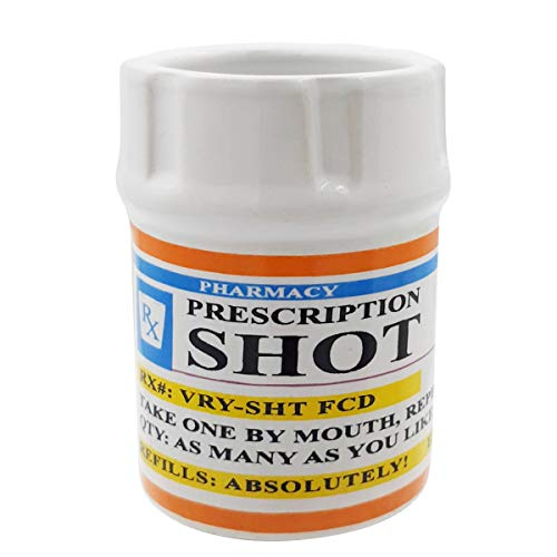 Shot Glasses Prescription Pill