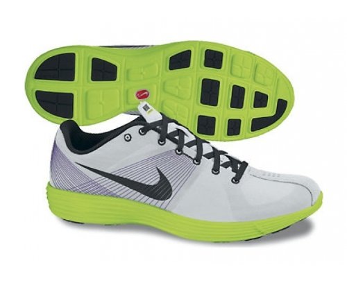 huge selection of 3d33a 1a54c Amazon.com   Nike Lunar Racer+ Racing Shoes - 7.5 - White   Running