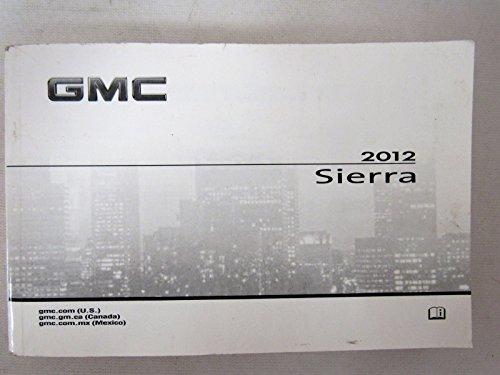- 2012 GMC Sierra Owners Manual