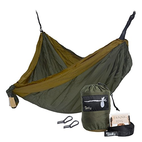 hobo-hammocks-portable-double-camping-hammock-webbing-straps-and-carabiners-included-for-hanging-gre