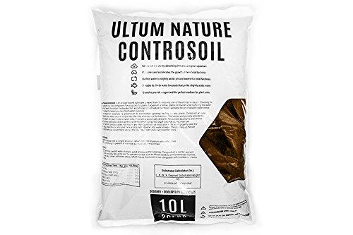 Ultum Nature Controsoil Freshwater Planted Aquarium Substrate - Extra Fine Brown (10 Liter)
