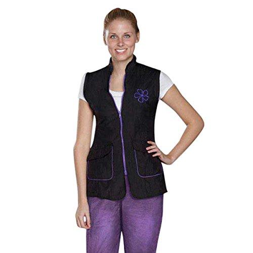 Stylist Wear - Stylist Wear TP1530 18 75 Sleeveless Grooming Jkt, Large, Carnation