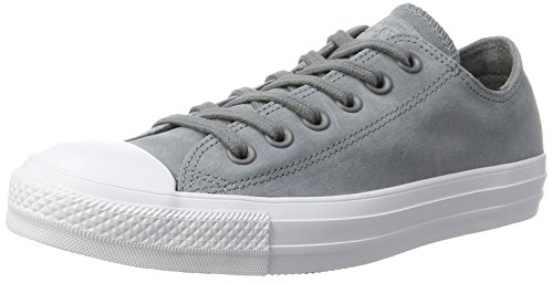 Converse CTAS Ox Cool Grey/White, Zapatillas Unisex Adulto Gris