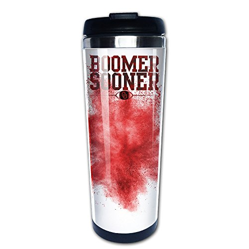 Oklahoma Sooners Stainless Steel Thermos - 9