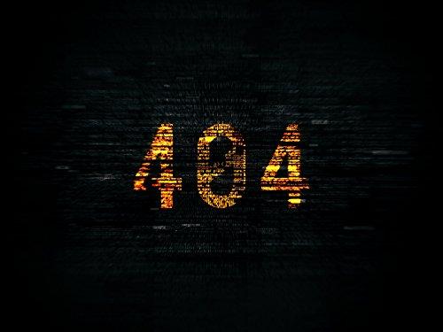 '404' on Amazon Prime Video UK