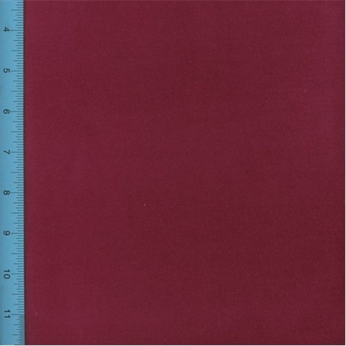 (Designer Berry Red Regal Cotton Velveteen Home Decorating Fabric, Fabric by The Yard)
