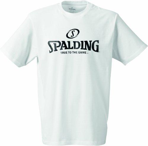 shirt De Spalding Blanc T Basket xOYqq4wz