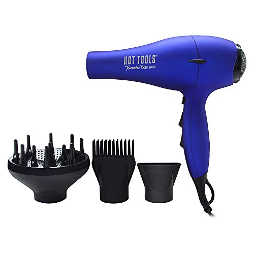 Hot Tools Professional Tourmaline Tools 2000 Turbo Ionic Dryer Model No. 1043BL (Ionic Lite Tourmaline Dryer)