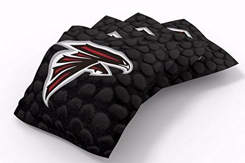 PROLINE 6x6 NFL Atlanta Falcons Cornhole Bean Bags - Pigskin Design (A)