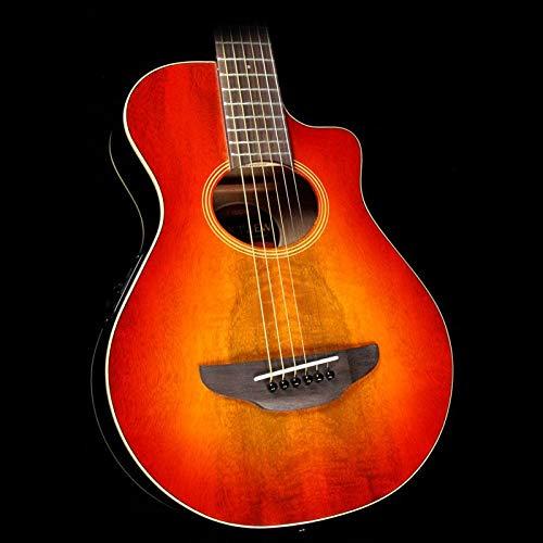 Yamaha APXT2EW 3/4-Size Acoustic-Electric Guitar with Gig Bag, Light Amber Burst